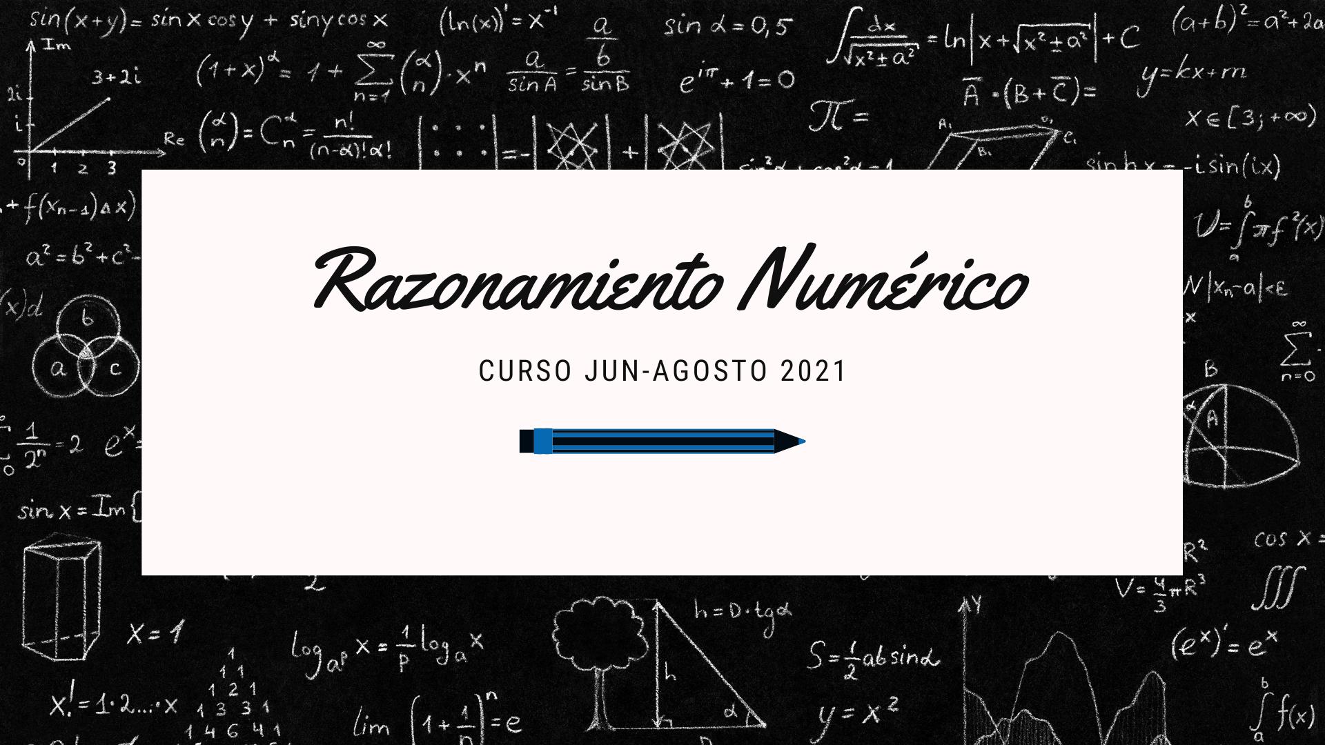 Razonamiento Numérico Curso C